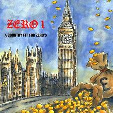 """ZERO 1 """"A Country Fit For Zeros"""" RED VINYL 10"""" new Punk Oi! RAZORCUT"""