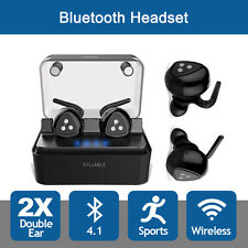 Mini Syllable D900 Wireless Bluetooth Rechargeable Earphone InEar Stereo Headset