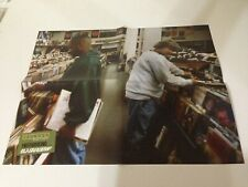 DJ Shadow Endtroducing Deluxe Edition 2 Sided Poster! Vinyl LP Record/CD promo!!