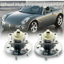 2 Rear Wheel Hub Bearing & Hub Assembl-y For Chev-y Impal-a Pontiac Grand Pri-x