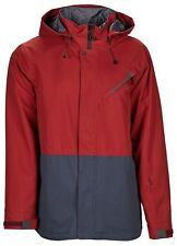 Bonfire Ether Snowboard Ski Jacket - Burgundy Indigo - Large, Red Blue RRP £190