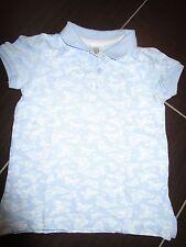 """NEUwertig!!! """"H&M"""" Poloshirt für Mädchen/ Baby, Gr. 92, hellblau m. weißem Motiv"""