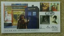 Doctor Who Appreciation Society Tom Baker Signed Stamp Cover