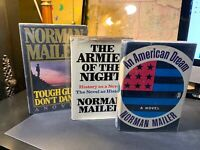 Norman Mailer Lot Tough Guys Dont Dance Armies Of The Night An American Dream
