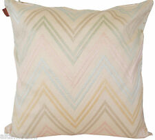 MISSONIHOME JAYLIN 213 COTTON SATEEN PILLOW BAG  - FODERA RASO COTONE RICAMO