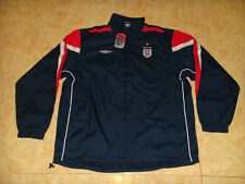 England National Team Soccer Shower Top Umbro Football Rain Jacket BNWT