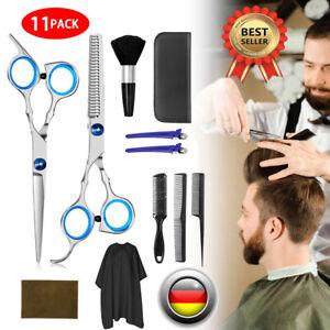 Profi Friseurscheren Set Haarschere Effilierschere Scissors Haarschneiden Set