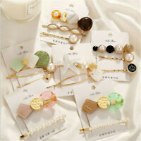 Women Girl Vintage Retro Hair Clip Bobby Pin Hairband Hairpin Barrette Accessory