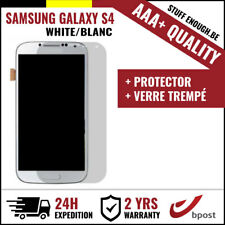 AAA+ LCD SCREEN/SCHERM/ÉCRAN WHITE + SCREEN GUARD FOR SAMSUNG GALAXY S4 I9500