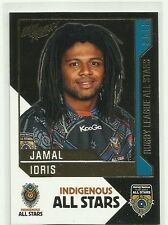 2012 NRL SELECT DYNASTY JAMAL IDRIS INDIGENOUS ALL STARS AS12 CARD