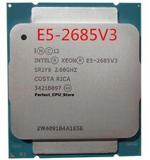 Intel Xeon E5 2685 V3 2.6GHz 12 Core LGA 2011-3 X99 CPU (Better than 6900K 5960X