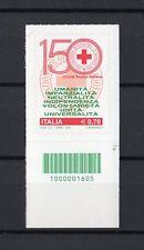 ITALIA : C/B 1605 -150° Croce Rossa Italiana  1val. da 0,70 €.  MNH**  4.06.2014