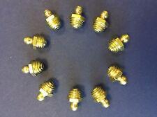 M10 x 1.5 pitch Hydraulic Grease Nipple Fitting - Straight (10) - UK Made