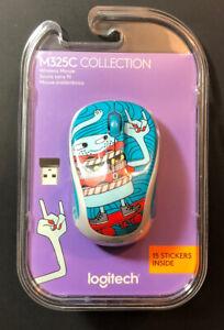 Logitech Wireless Mouse M325C [ Skateburger Edition ] NEW