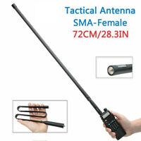 72cm Tactical Antenna SMA-Female Foldable For Baofeng UV-5R UV-82 Two Way Radio