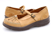 Dr Comfort Womens 8.5M Beige Leather Paradise Mary Jane Shoes EUR 38.5