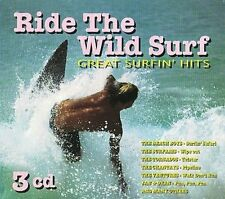 VARIOUS ARTISTS - RIDE THE WILD SURF: GREAT SURFIN HITS (3CD) NEW CD