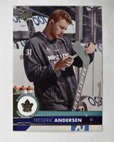 2017-18 17-18 Upper Deck UD Series 1 Base #171 Frederik Andersen