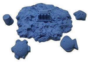 2 lb Refill Light Blue Space sand / Moon Crazy Sand Mold-N-Play Kid Fun
