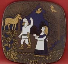 ARABIA FINLAND 1991 KALEVALA ANNUAL PLATE RAIJA UOSIKKINEN