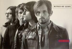 Kings of Leon Black & White Band Shot Poster 24 x 36