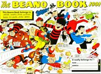 Beano ANNUALS. DVD. UK/ BRITISH COMICS/ Humour. Full/ partial Colour and B&W.