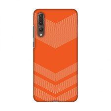 AMZER Carbon Fibre Tangy Orange 2 Hard Plastic Cover Slim Printed Snap On Case