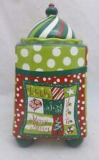 Certified International Christmas Jollies Cookie Jar