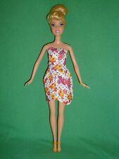 A Mattel Cinderella Barbie Size Doll & Pretty Outfit ~ Straight Leg Doll ~ Cute