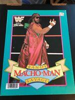 LOT OF 5 WWF/WWE 1985 & 1990 School Paper Folders HULK HOGAN, MACHO MAN, LOD