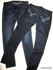 Lot 2 WILLIAM RAST NEW Jerri Ultra SKINNY Jeans WOMENS 28 x 33 Dark Wash Slim
