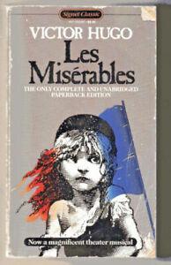 Les Miserables by Victor Hugo (1987, Mass Market)