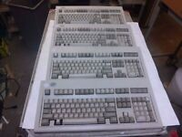 1391401 IBM PS/2 KEYBOARD, Price listed is per each keyboard, see description
