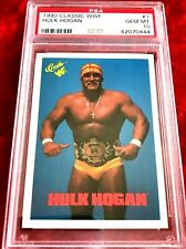 1990 CLASSIC WWF #1 HULK HOGAN POP 6 PSA 10!