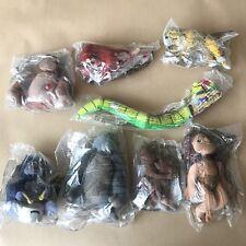 Set of 8x Aladdin Mcdonalds Toys - Year 2000 Plush - Sealed