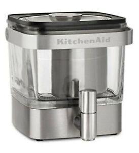 Cucina Aiuto Freddo Birra Caffè Maker Dispenser Acciaio Inox Spazzolato & Manico
