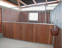Trennwand Pferdebox, Innenboxen, Pferdeboxen, Pferdestall, Pferd Box, Frontwand
