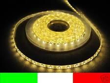 24v 24 IMPERMEABLE 5m LED TIRA tira BLANCO CÁLIDO LUCES DE EXTERIOR B7B3