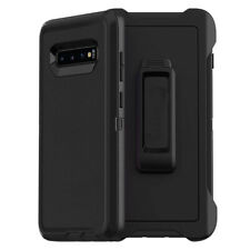 For Samsung Galaxy S10 Plus S10e Case w/ Belt Clip Fits Otterbox Defender Series