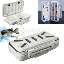 16 Compartment Small Fishing Lure Hook Bait Tackle Waterproof Storage Box Case
