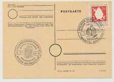 Sonderstempel KARLSRUHE 4.9.54, 5. FIPCO KONGRESS (38572)