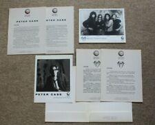 Original Peter Case & Michael Thompson Band 1989 Geffen Records US Press Kit