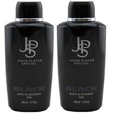 John Player Special BLACK JPS Duschgel 2 x 500 ml Bath & Shower Gel