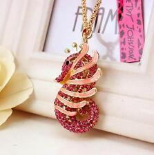 Women Gift Betsey Johnson Pendant Jewelry Rhinestone seahorse Charm Necklaces