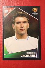 Panini EURO 2004 N. 43 HELLAS ZAGORAKIS  NEW With BLACK BACK TOPMINT!!
