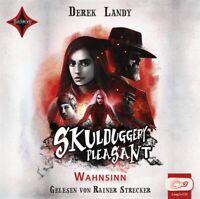 DEREK LANDY - SKULDUGGERY PLEASANT-WAHNSINN  2 MP3 CD NEW