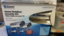 Swann PNP-150/2D Home Outdoor Security System Kit View Video on your TV Day/Nite