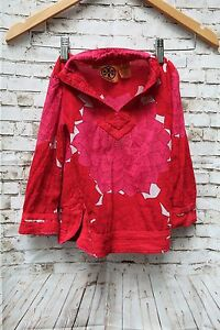 Girl Tory Burch Red Fall Tunic Top Size XSmall (2/4)