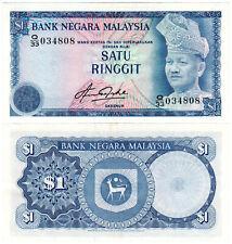 Malaysia $1 P#13b (1981) Bank Negara Malaysia UNC