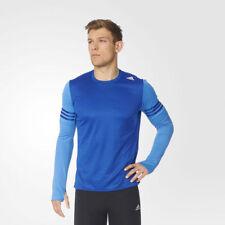 adidas Crew Neck Long Sleeve Basic T-Shirts for Men